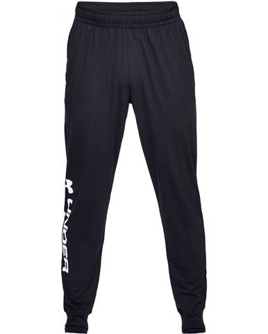 Pánske tepláky Under Armour Sportstyle Cotton Graphic Jogger Black - S