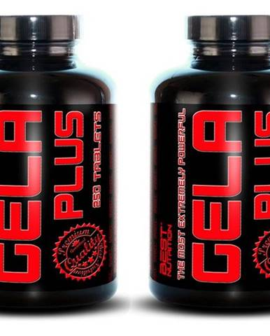 1+1 Zadarmo: Gela Plus od Best Nutrition 250 tbl. + 250 tbl.