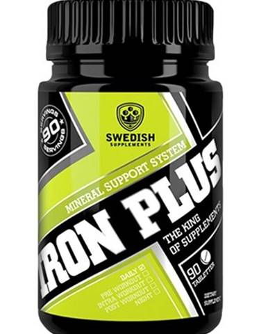 Iron Plus - Swedish Supplements 90 tbl.