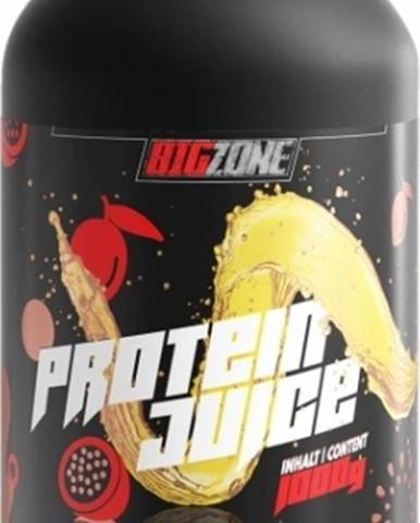 Big Zone Protein Juice 1000 g variant: multivitamín