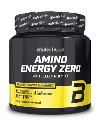 Amino Energy Zero with Electrolytes - Biotech USA 360 g Lime