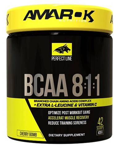 Perfect Line BCAA 8:1:1 - Amarok Nutrition  420 g Cherry Bomb
