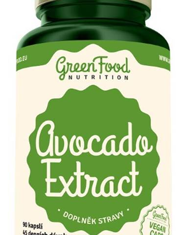 GreenFood Avocado Extract 90 kapsúl
