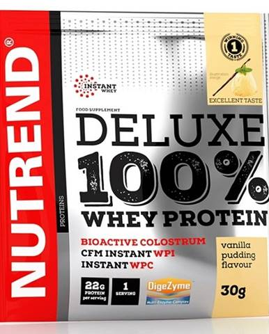 Nutrend Deluxe 100% Whey Protein 30 g variant: citrónový cheesecake