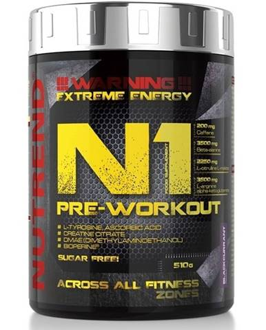 N1 Pre-Workout od Nutrend 10 x 17 g Blackcurrant